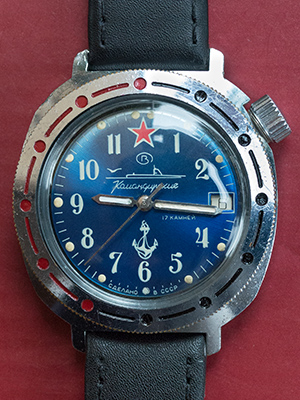 Vostok Komandirskie submarine 331289